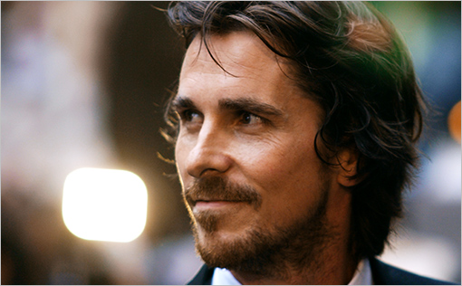 British actor Christian Bale arrives for