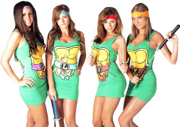 Ninja-Turtles-and-Power-Rangers-Sexy-mini-Dresses-for-geeky-girls-3