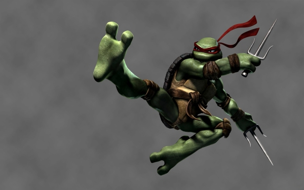 Raphael-Ninja-Turtles