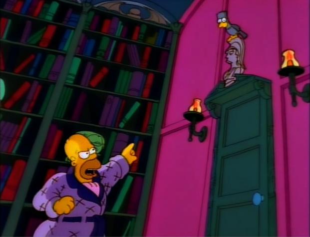 La casita del horror los simpsons capitulos