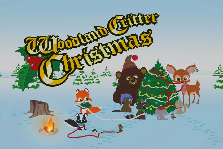 South Park Christmas.25 Days Of Christmas 5 South Park Woodland Critter