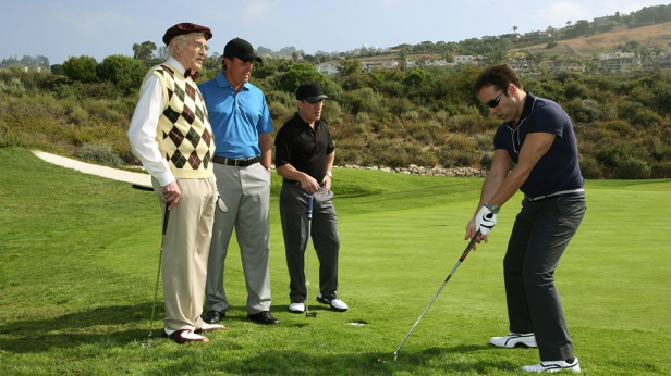 Bet you can't guess which one of these guys dies on the golf course.