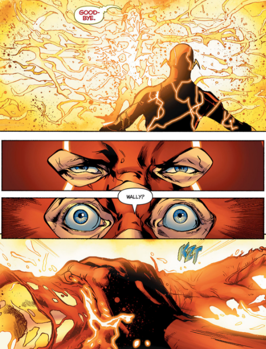 Rebirth 1 Barry Saves Wally