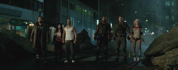 suicide squad cast will smith margot robbie