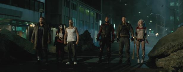 suicide squad cast will smith margot robbie