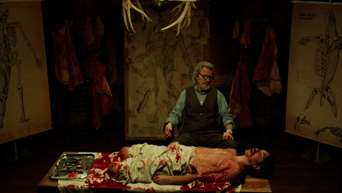 michael parks justin long in tusk movie horror