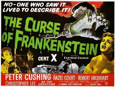 the-curse-of-frankenstein-1957-poster