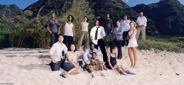 lost season 1 cast photo beach